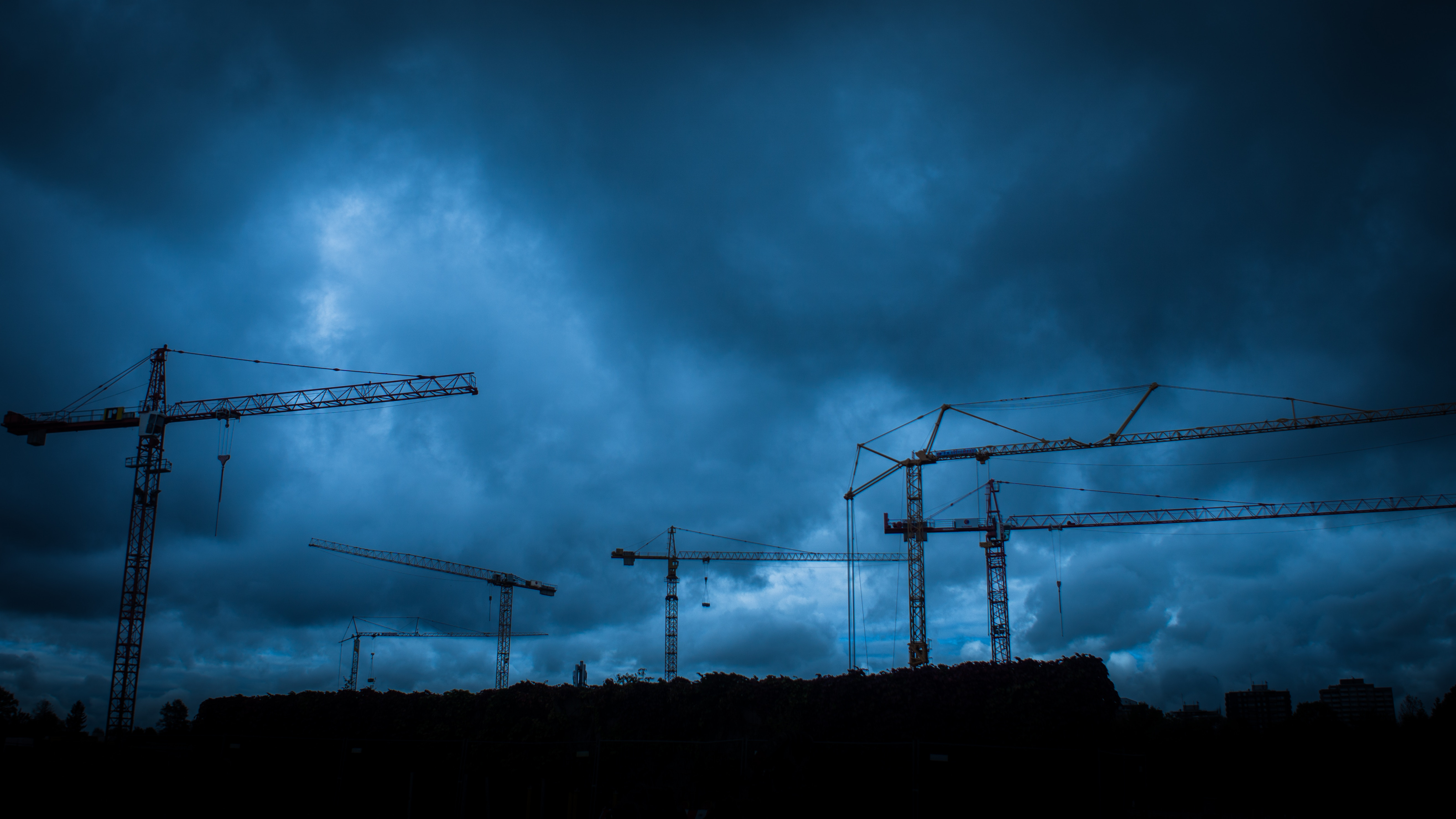 Storm Over Construction